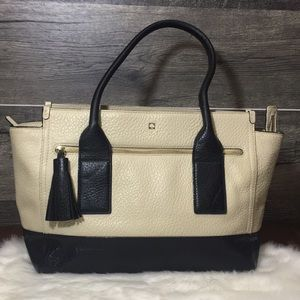 "Kate Spade ""Southport"" tassel tote"